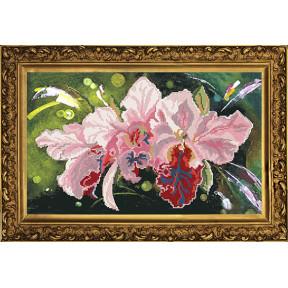 Набор для вышивания бисером Новая Слобода НС-3002 Орхидея