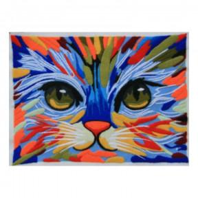 Набор для вышивания нитками ВДВ Кошечка М-0779