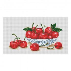 Набор для вышивания нитками ВДВ Вишневый блюз М-0830