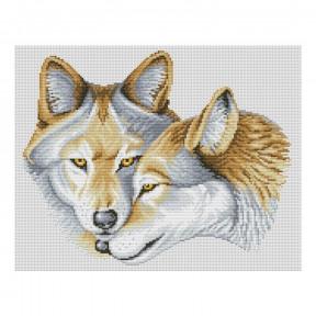 Набор для вышивания нитками ВДВ Любовь на всю жизнь М-0842