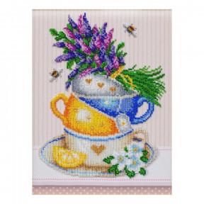 """Набор для вышивания бисером ВДВ """"Травяной чай"""" ТН-1230"""