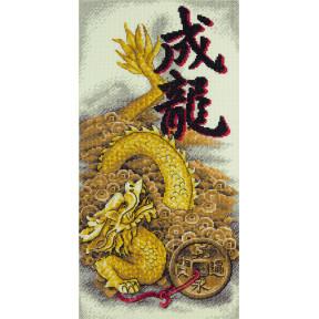 Набор для вышивки крестом Panna Золотой дракон И-1938