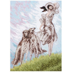 Набор для вышивки крестом Палитра Три грации 11.014