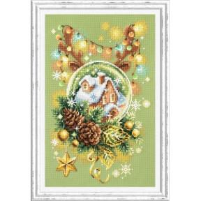 Набор для вышивки крестом Чудесная игла Светлое рождество 100-245