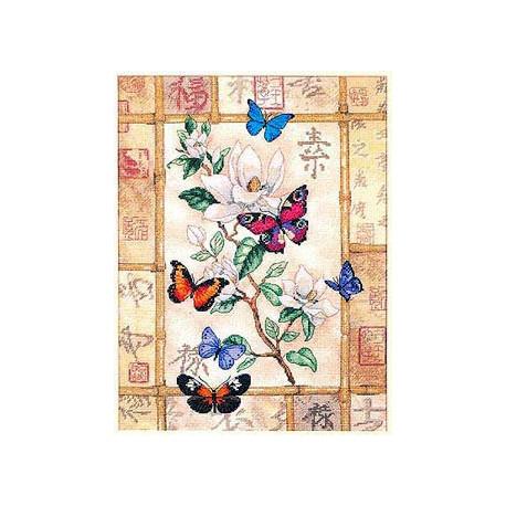 Набор для вышивки Dimensions 35063 Brilliant Butterfly фото