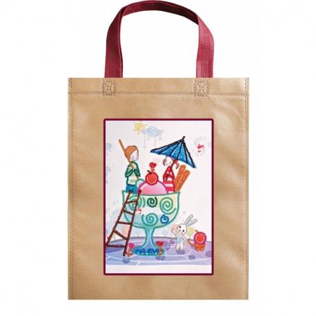 Эскимо любви Абрис Арт Набор-сумка для вышивания бисером АСА-007