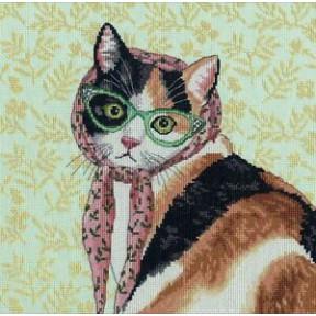Мама кошка Dimensions Набор для вышивания крестом 70-35395