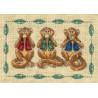 Набор для вышивания крестом Dimensions 06977 See No Evil фото