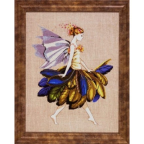 Feather Fairy / Фея с перьями Mirabilia Designs Схема для вышивания MD83