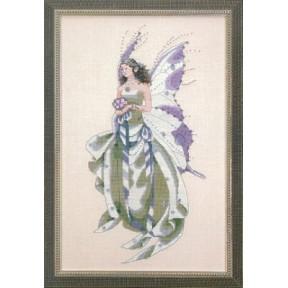 July's Amethyst Fairy / Июльская аметистовая фея Mirabilia Designs Схема для вышивания MD59
