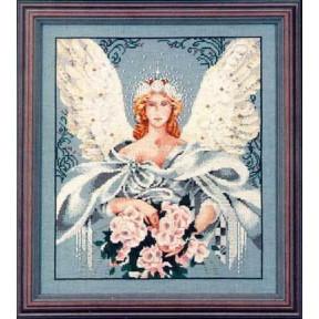 Millennium Angel / Ангел тысячелетия Mirabilia Designs Схема для вышивания MD27