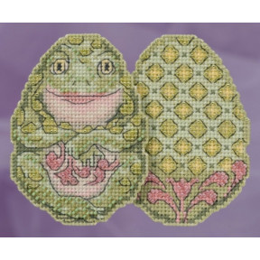 Frog Egg / Лягушка Mill Hill Набор для вышивания крестом JS181811