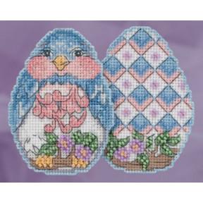 Bluebird Egg / Птичка Mill Hill Набор для вышивания крестом JS181816