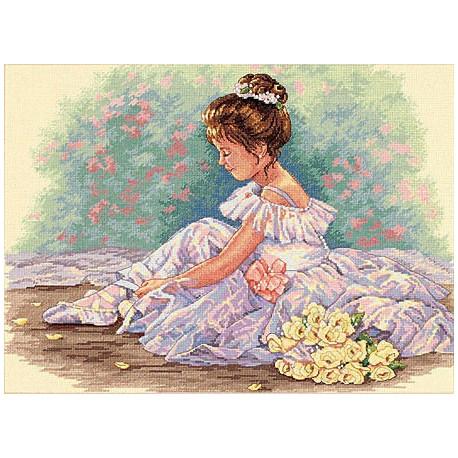 Набор для вышивки крестом Dimensions 35245 Sweet Ballerina фото