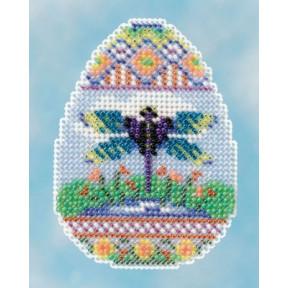 Dragonfly Egg / Яйцо со стрекозой Mill Hill Набор для вышивания крестом MH181612