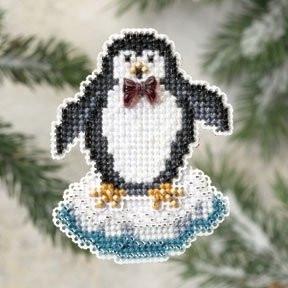 Proud Penguin / Гордый пингвин Mill Hill Набор для вышивания крестом MH189301