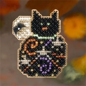Magic Kitty / Магический котенок Mill Hill Набор для вышивания крестом MH186206