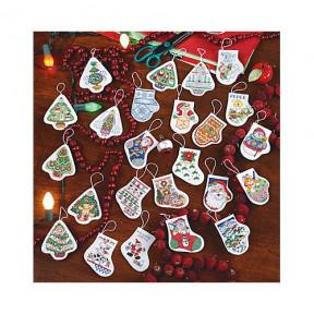 Набор для вышивания  Janlynn 023-0573 24 Festive Ornaments