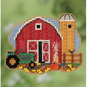 Harvest Barn / Сарайчик Mill Hill Набор для вышивания крестом MH181821