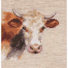 """Набор для вышивки крестом Алиса """"Корова"""" 0-213"""