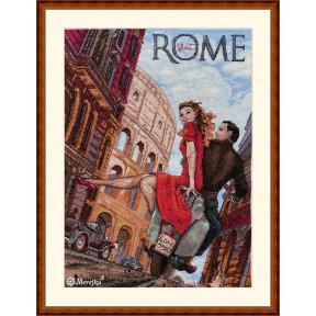Visit Rome Мережка Набор для вышивания крестом К-180