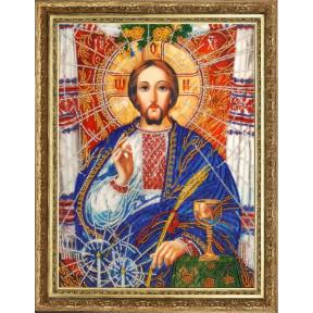 Христос Спаситель (по картине А. Охапкина) Butterfly Набор для вышивания бисером 817Б