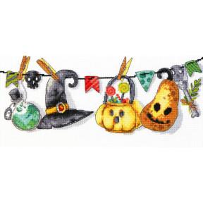 Хэллоуин Чарівна Мить Набор для вышивания крестом М-447