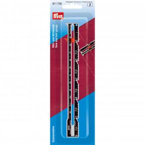 Линейка для шитья и вязания (см/дюймы) Prym 611738