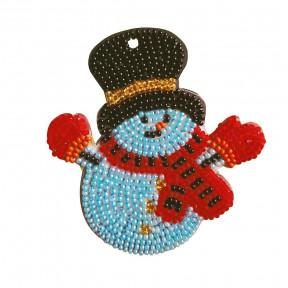 Снеговик в цилиндре Набор для креативного рукоделия Нова Слобода РВ2201