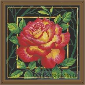 """Набор для вышивания крестом Искусница """"Цветок. Любовь"""" 564"""