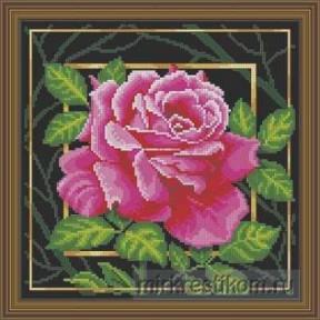 """Набор для вышивания крестом Искусница """"Цветок. Страсть"""" 565"""