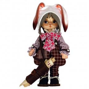 Белый кролик Набор для шитья куклы Нова Слобода К1093