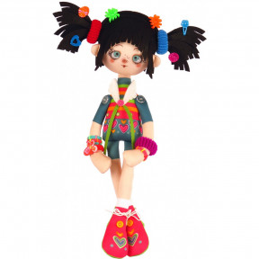 Мармеладка Набор для шитья куклы Нова Слобода К1101