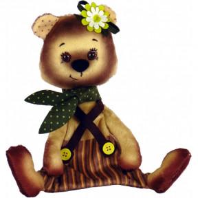 Мишка Набор для шитья мягкой игрушки Нова Слобода ММ3015