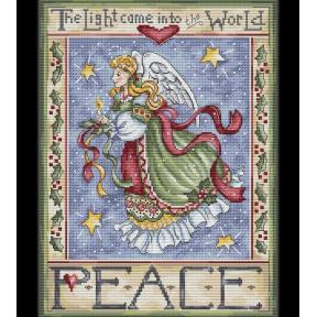 Ангел Мира LETISTITCH Набор для вышивания крестом LETI 991