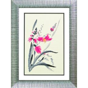 Аленький цветочек Набор для вышивания крестом Чарівна Мить М-113