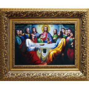 Тайная вечеря Набор для вышивания крестом Чарівна Мить РК-043