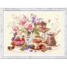 На чашечку кофе...? Набор для вышивки крестом Чудесная игла 1120-203