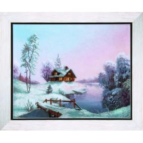 Морозное утро Набор для вышивания крестом Чарівна Мить РК-070