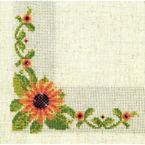 Набор для вышивки салфетки Чарівна Мить СКС-016