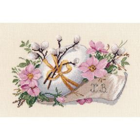 Светлое Воскресенье Овен Набор для вышивки крестом 1375о