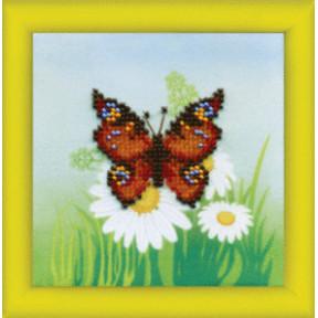 Бабочка Набор для вышивания бисером Чарівна Мить Б-617
