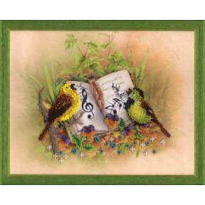 Птицы-певцы Набор для вышивания бисером Чарівна Мить Б-674