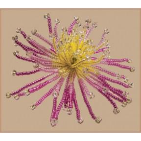 Солнечный цветок Набор для бисероплетения Чарівна Мить БП-136