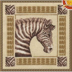 Зебра Набор для вышивки Золотое Руно ЖС-004
