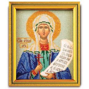 Св. Дарья Набор для вышивания бисером Кроше В-344