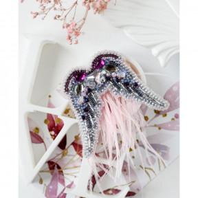 Окрыляй Абрис Арт Набор для вышивки бисером украшения на натуральном художественном холсте AD-202