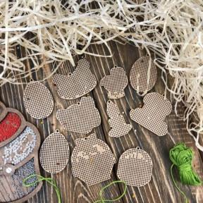 Набор заготовок для вышивания по дереву Волшебная страна FLSW-008