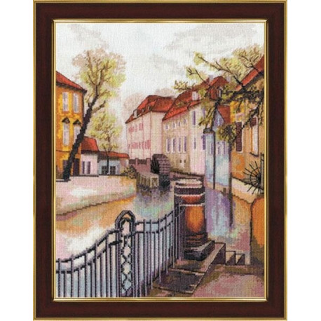 Набор для вышивки крестом Золотое Руно ДЛ-007 Старая Прага фото