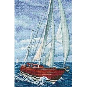 Со вкусом соли, ветра и солнца Набор для вышивки крестом RTO M849